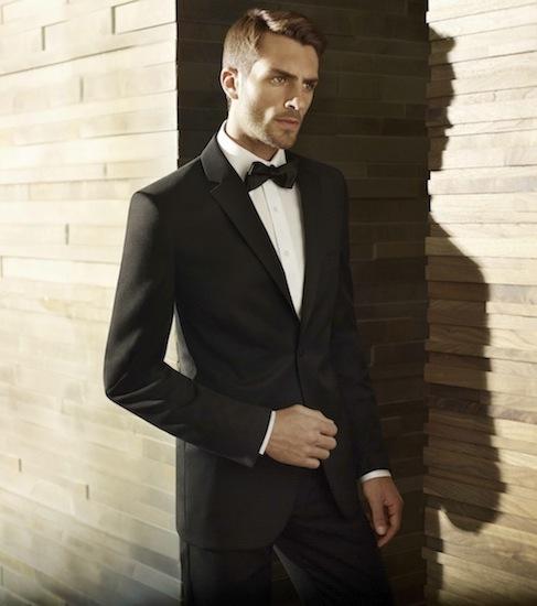 photo of Men s Wearhouse Tux BLACK by Vera Wang