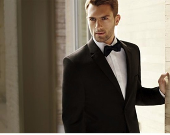 Men s Wearhouse Tux BLACK by Vera Wang