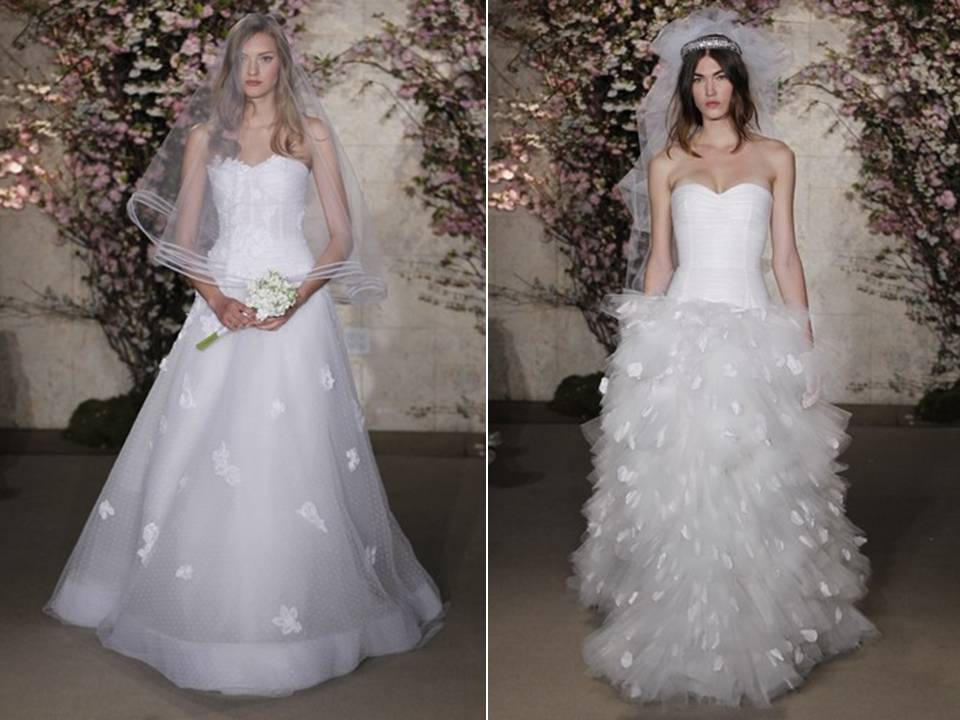 Chic oscar de la renta spring 2012 wedding dresses with for Where to buy oscar de la renta wedding dress