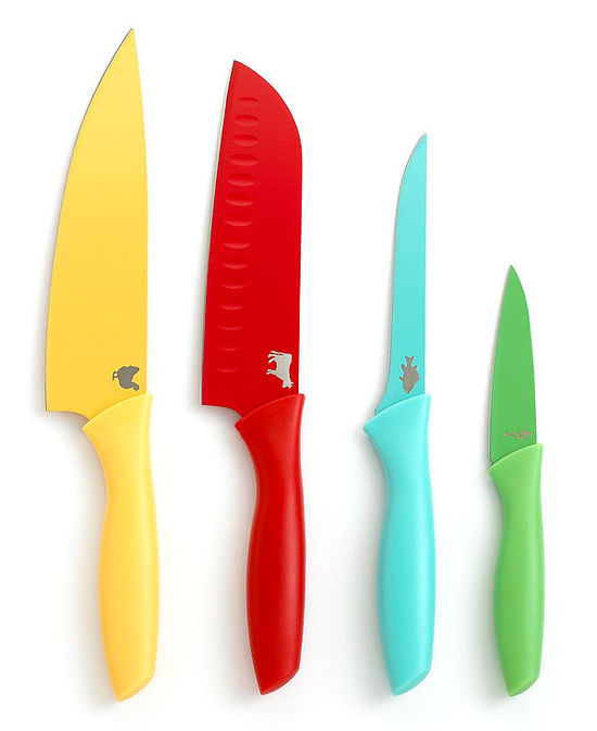 Martha Stewart Collection Color Coded Cutlery