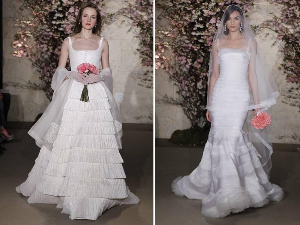 Oscar De La Renta Vintage-inspired 2012 Wedding Dresses