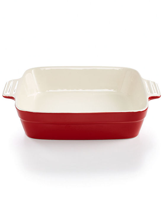"Martha Stewart Collection Ceramic 8"" Square Baking Dish"