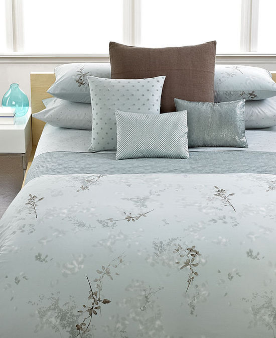 photo of Calvin Klein Home Tinted Wake Bedding Collection