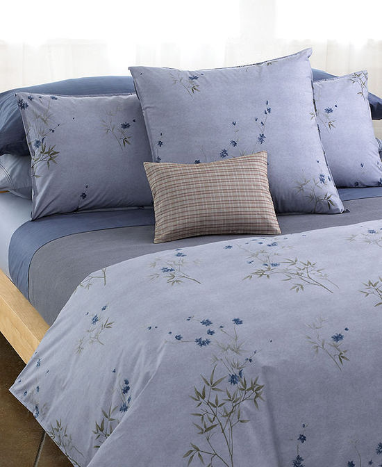 photo of Calvin Klein Home Bamboo Flowers Bedding Collection