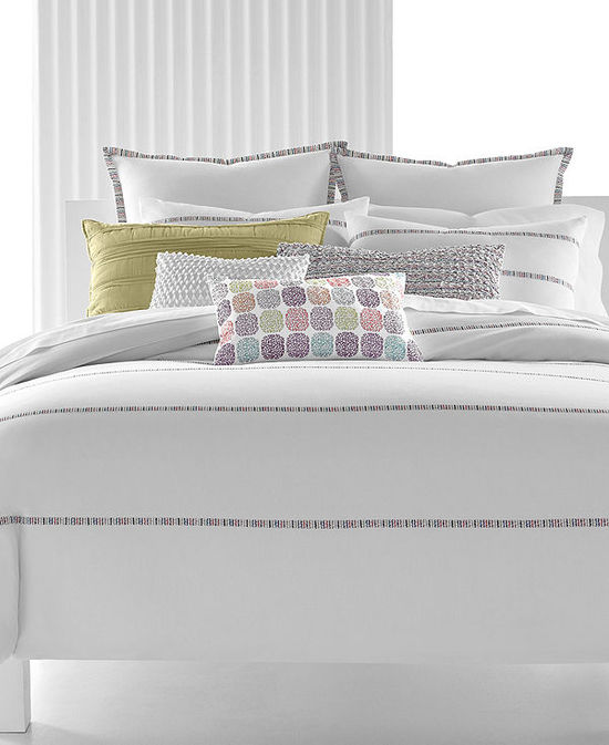 photo of Bar III Senna Comforter and Duvet Cover Collection