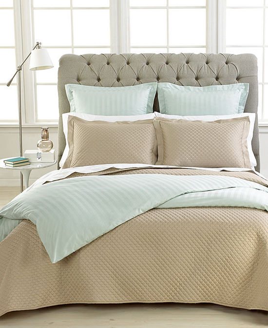photo of Charter Club Bedding, Damask Quilted 3 Piece Coverlet Set