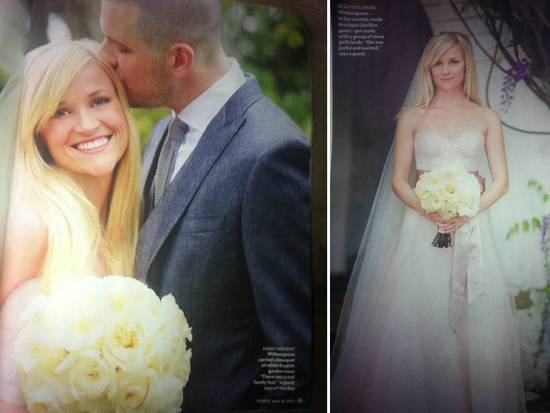 Reese Witherspoon's wedding day was the perfect mix of elegance, romance and country chic