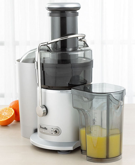 Breville JE9XL Juicer, Two-Speed Juice Fountain