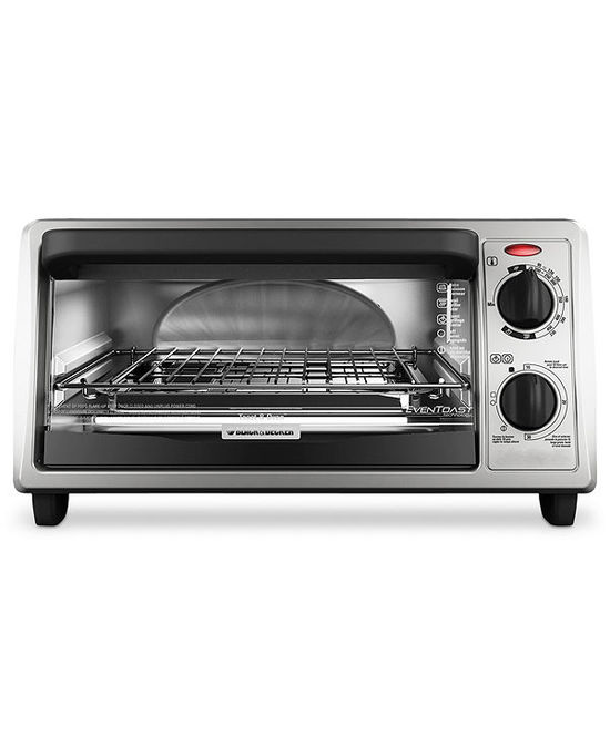 photo of Black & Decker TO1322SBD Toaster Oven, 4-Slice EvenToast Technology