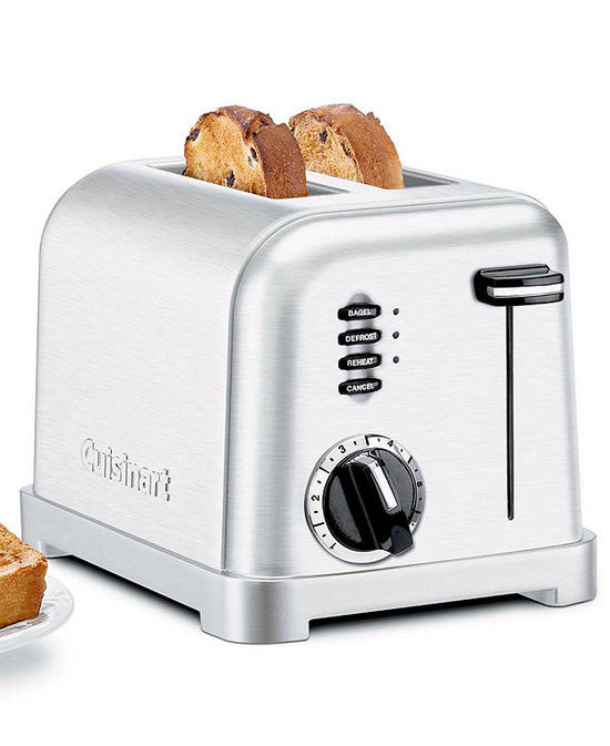 Cuisinart CPT-160 Toaster, 2-Slice Classic Brushed Chrome