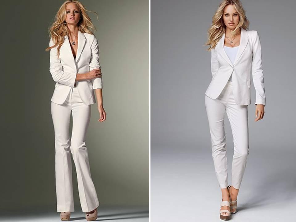 Wedding Suits For Brides : Wedding trends white tailored suit pre parties original