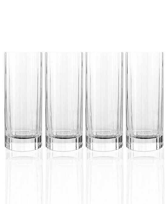 Luigi Bormioli Glassware, Set of 4 Bach Highball Glasses
