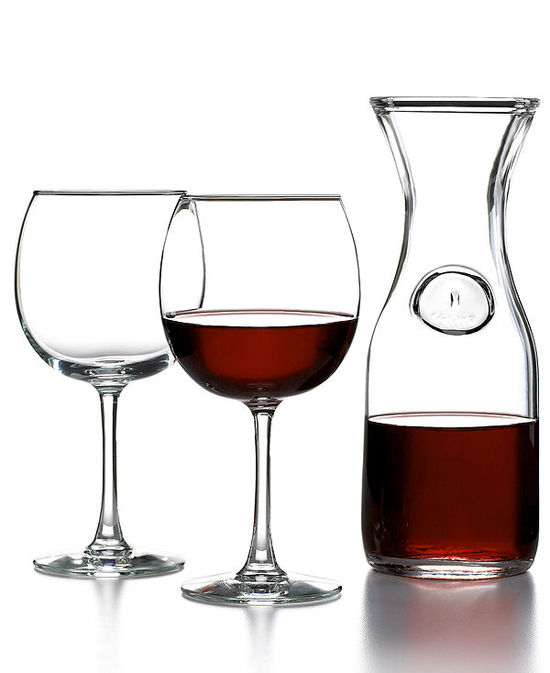 Luminarc Glassware, Party for Two Balloon Wine Set
