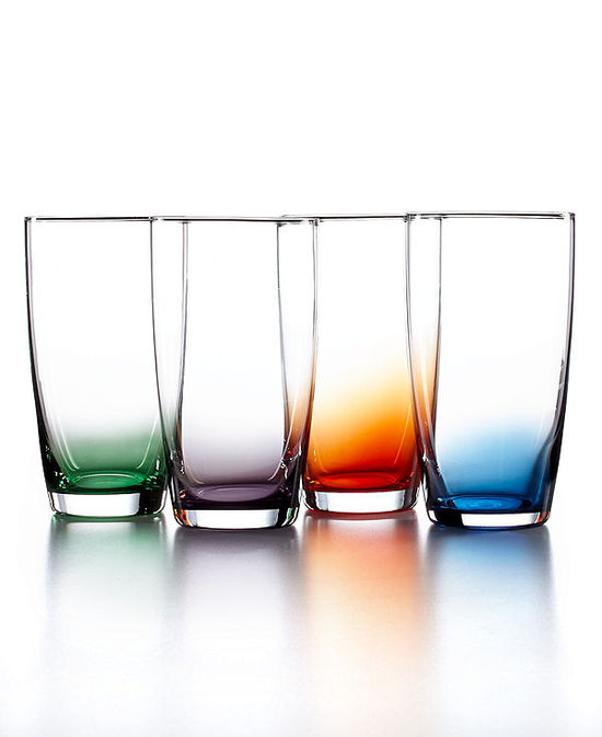 photo of The Cellar Set of 4 Assorted Color Tall Tumblers