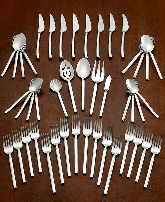 photo of Zwilling J.A. Henckels Twin Brand Opus 45-Piece Flatware Set with Service for 8