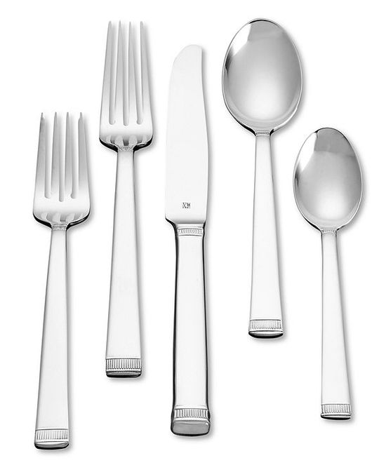 photo of Vera Wang Wedgwood Chime Stainless Flatware Collection