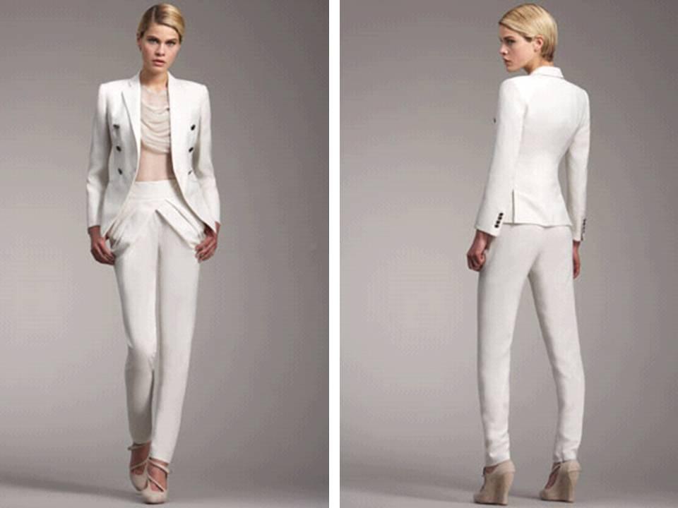3/four sleeve plus length wedding attire