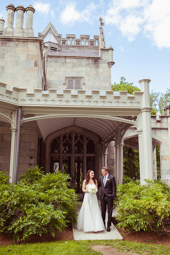 The Lyndhurst Mansion in NY wedding venue