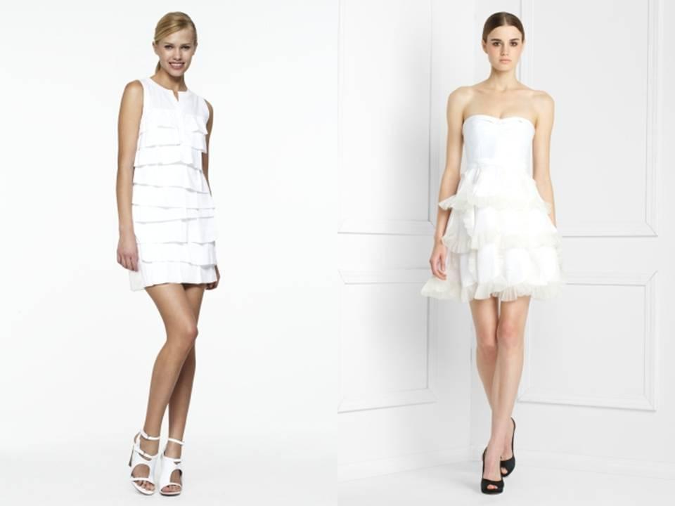 Little-white-wedding-dresses-wedding-reception-flirty-romantic-bridal-style-ruffles.full