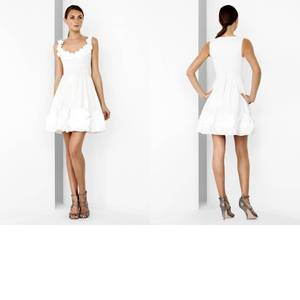 Little white wedding dresses by BCBG