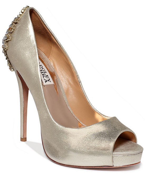 Badgley Mischka Dree II Evening Pumps