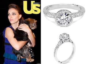 photo of Celebrity Engagement Rings: Lookalike Bling from Tacori