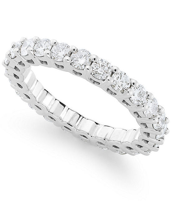 X3 Diamond Ring, 18k Gold Diamond Anniversary Band
