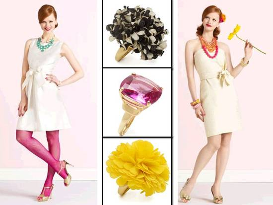 photo of Kate Spade Debuts First Bridal Collection: Wedding Belles (and whistles)