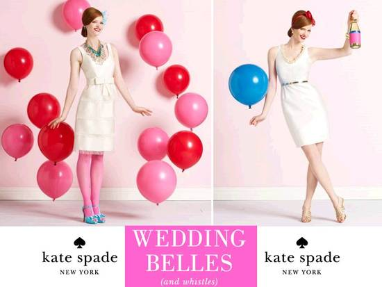 Kate Spade's new Wedding Belles bridal boutique is super chic and girly!