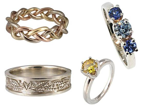 photo of Eco Wedding Jewelry Alert:  Not all Rings are Created Eco