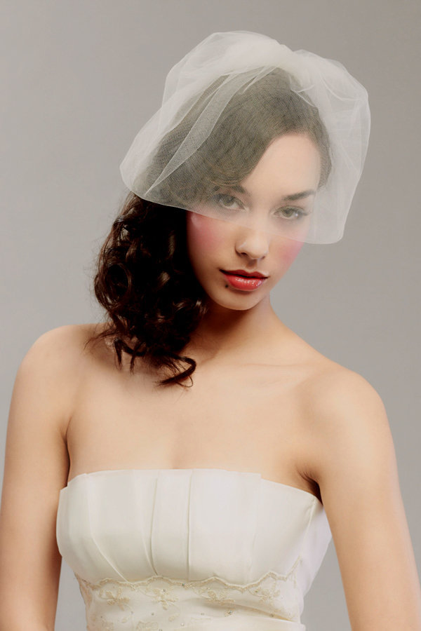 photo of Posh Bridal Veils, Blushers, and Wedding Head Chic