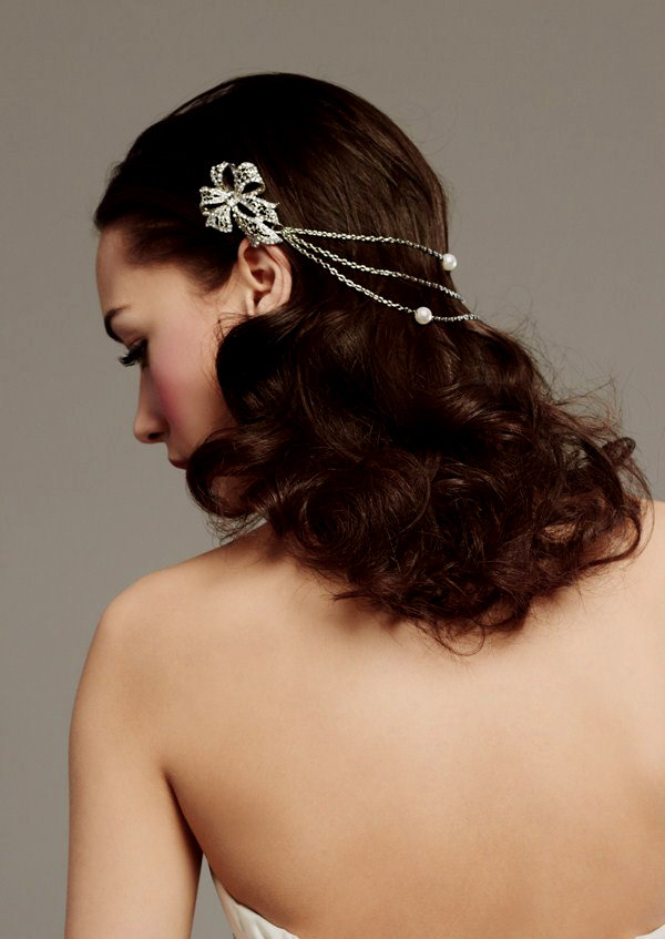 Jewell Hair: Antique-inspired Rhinestone Hair Jewels To Adorn Your