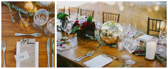 Reception Table Napa Valley CB