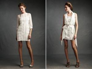 photo of New rehearsal dinner or wedding reception dresses by BHLDN