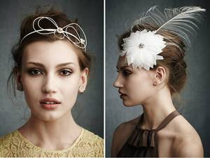 photo of NEW bridal hair accessories by BHLDN