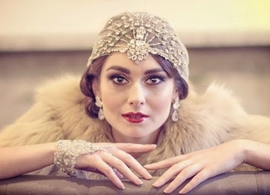 Gatsby inspired head chic by Willow Moone