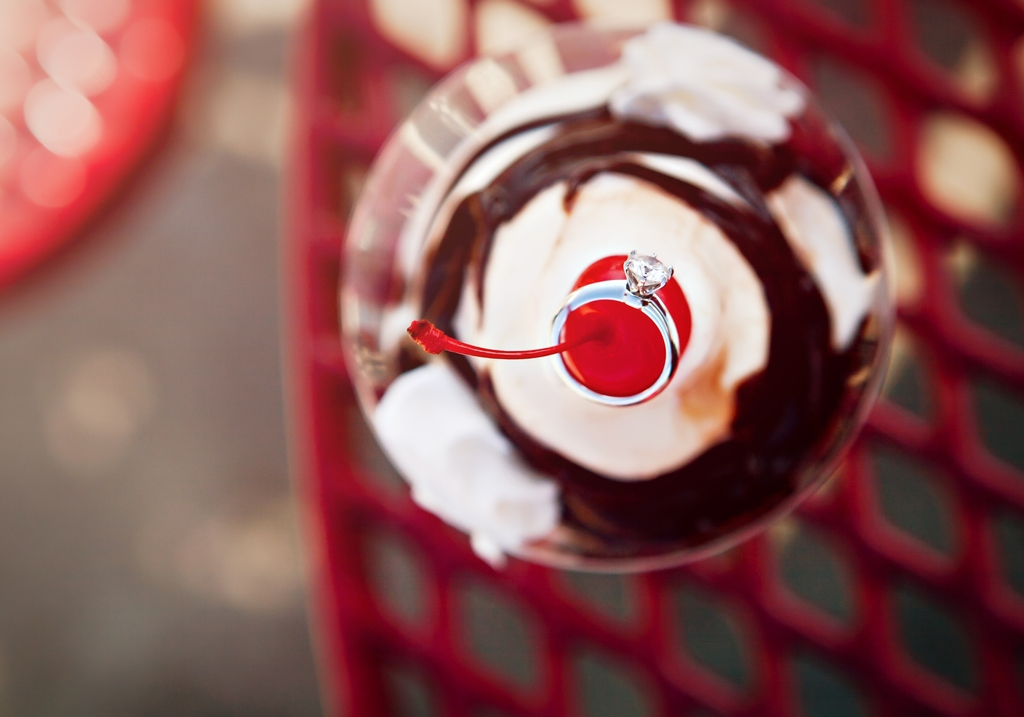 Diamond-engagement-ring-round-ice-cream-sunday-photography-e-session.full
