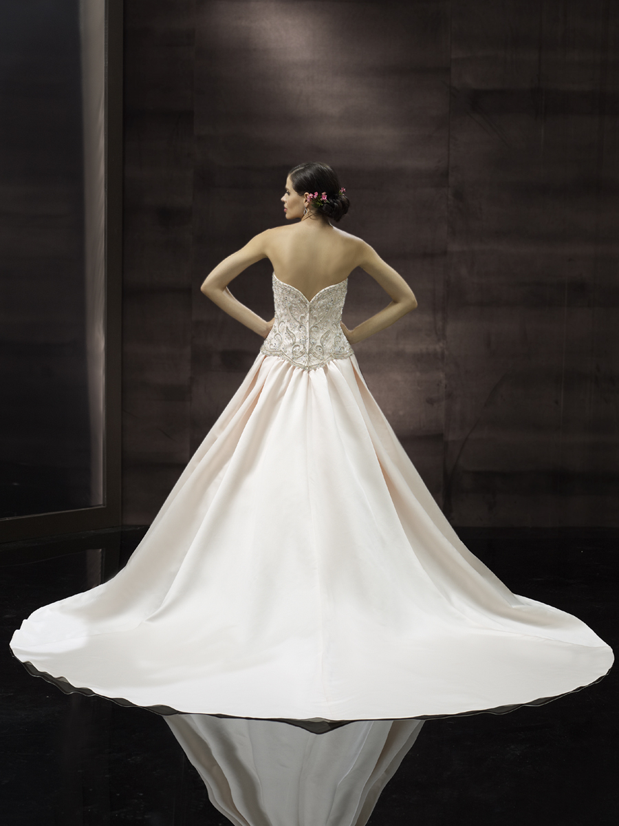 Classic wedding gown from Moonlight Couture