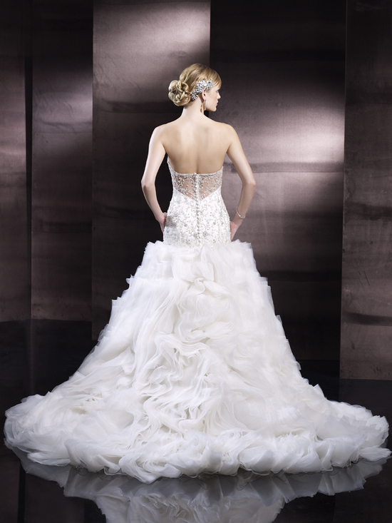 photo of Full skirt wedding gown from Moonlight Couture