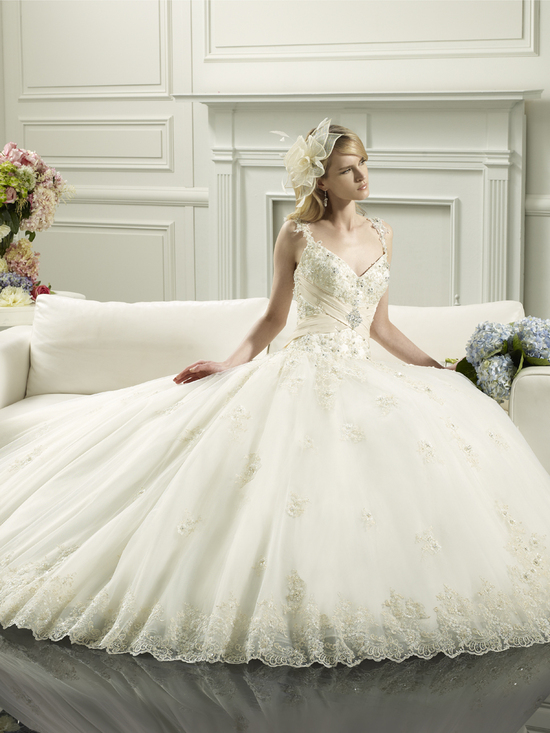 photo of Princess wedding gown from Moonlight Couture