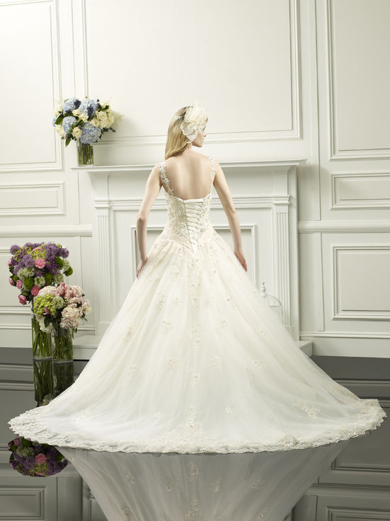 Princess wedding gown from Moonlight Couture