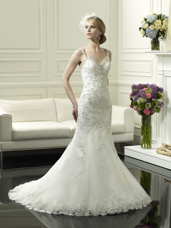 Wedding gown from Moonlight Couture