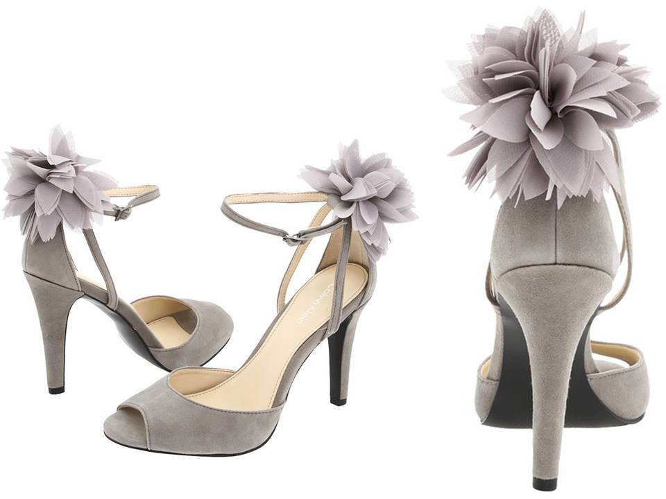 Kate Spade Bridal Heels The Lourdes Shoe With Metallic Shimmer And Bow Detail