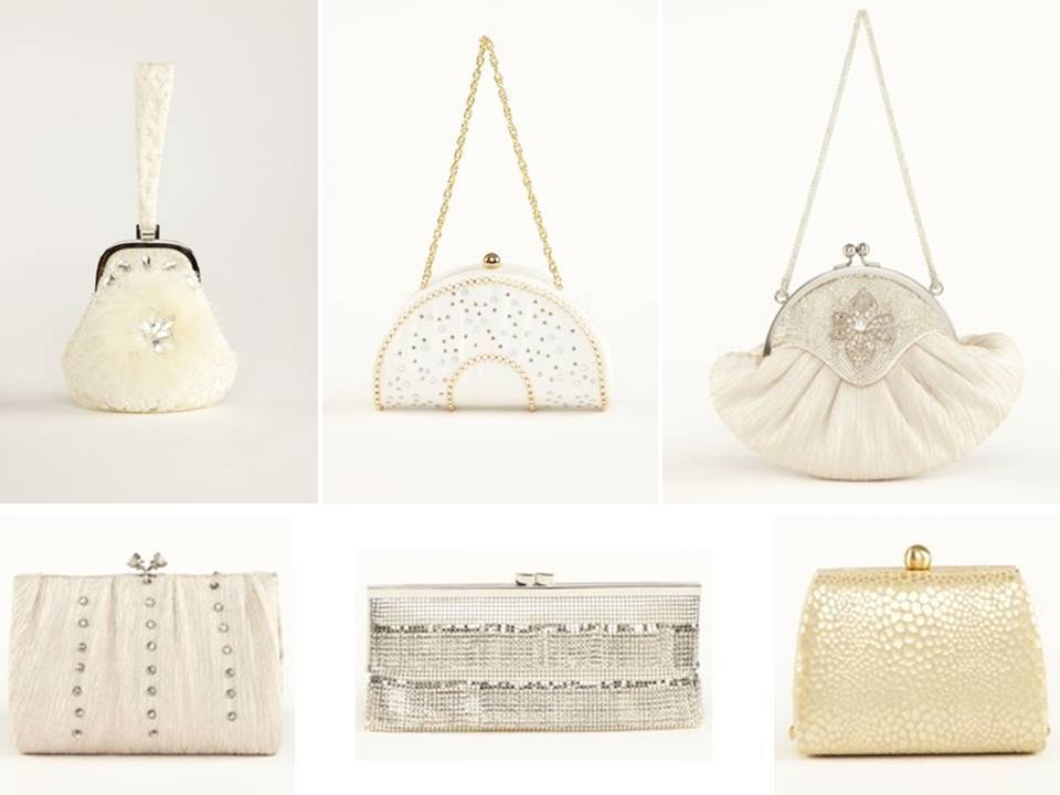 Luxe Designer Handbags And Clutches For The Bride Bridesmaids