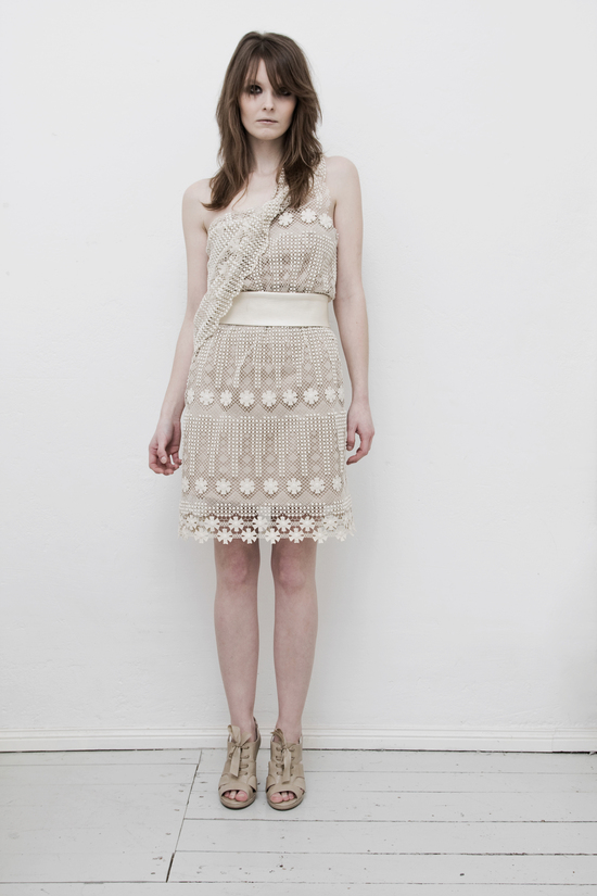 photo of Bohemian, asymetrical minidress by Blushless of London