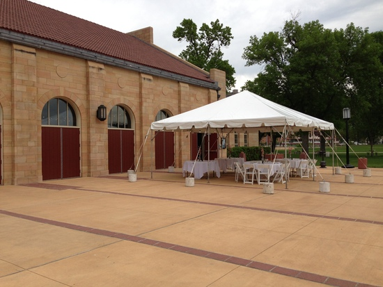 south patio tent