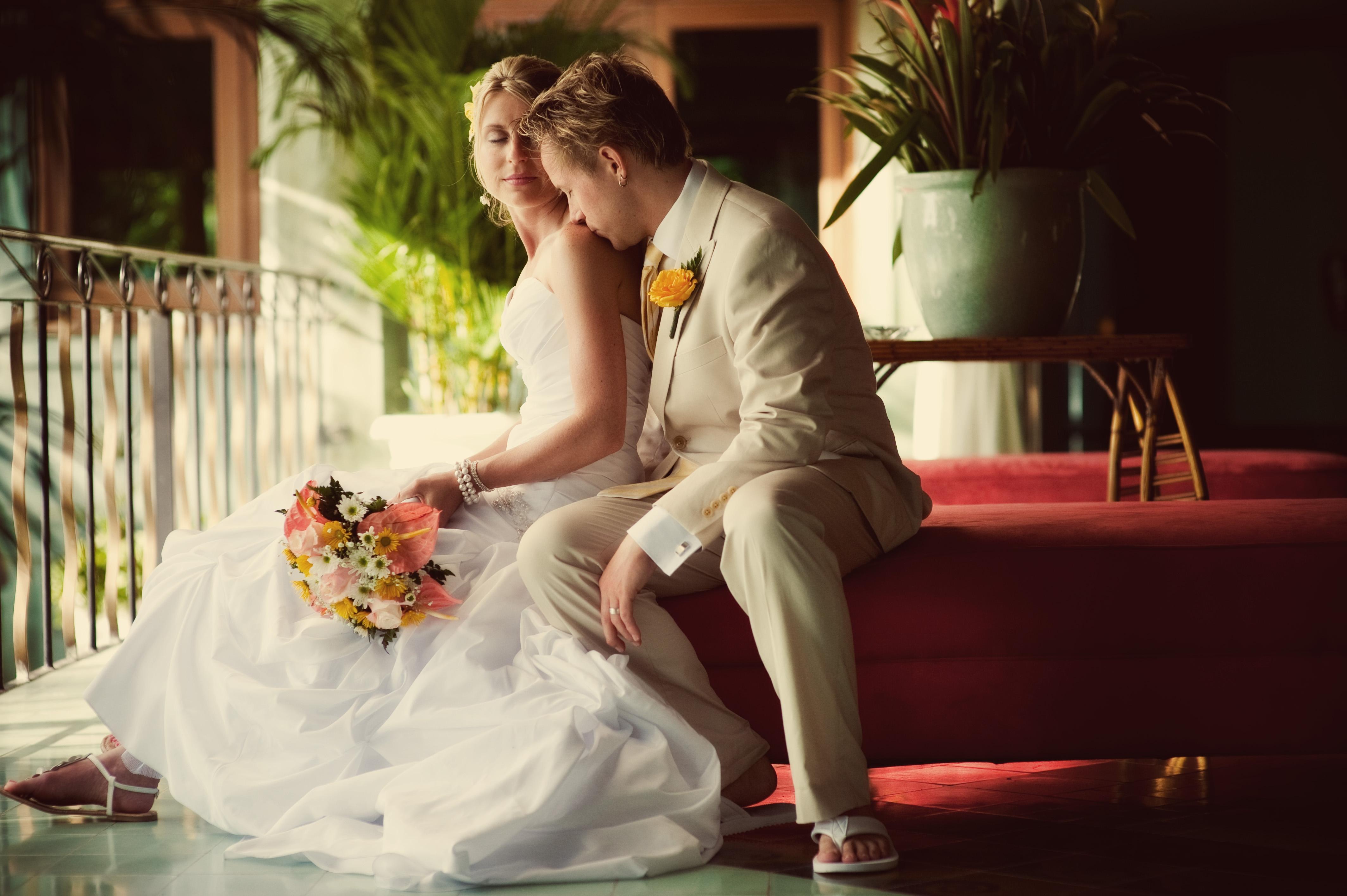 Destination wedding venue in jamaica beach bride and for Wedding dress destination wedding