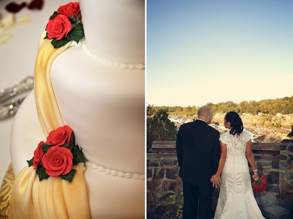Real-weddings-fall-autumn-classic-wedding-style-red-wedding-flowers-cake.full