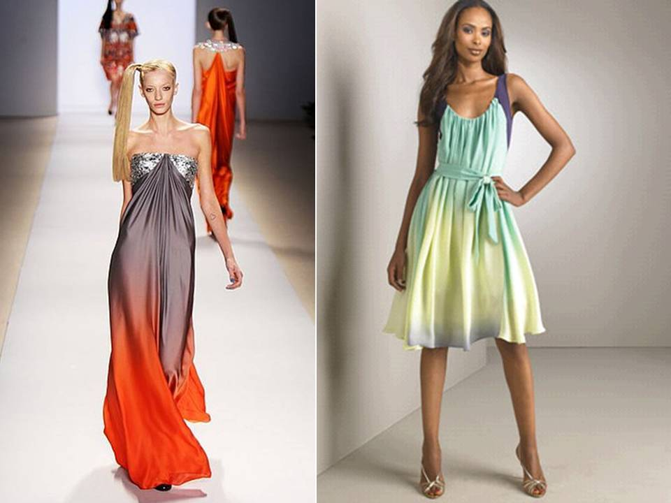 Ombre-bridesmaids-dresses-orange-grey-spring-wedding-colors.full