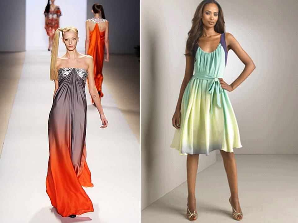 Ombre-bridesmaids-dresses-orange-grey-spring-wedding-colors.original